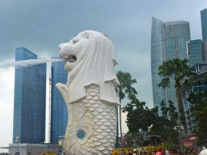le merlion Singapour