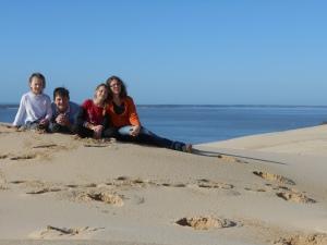 la dune du Pilat en famille