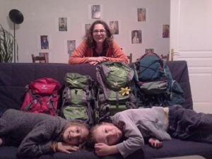 nos sacs à dos