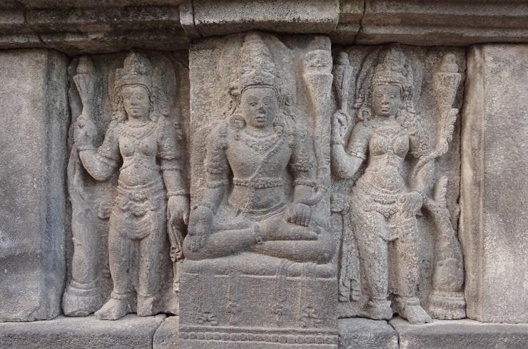 Prambanan et ballet 28 juillet 164