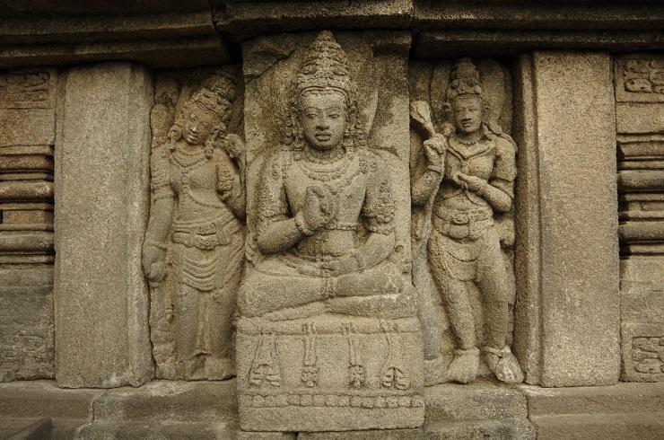 Prambanan et ballet 28 juillet 168