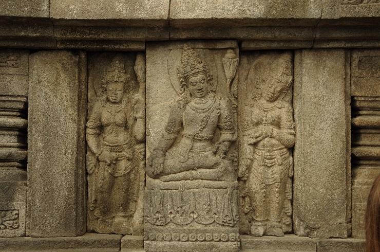 Prambanan et ballet 28 juillet 172