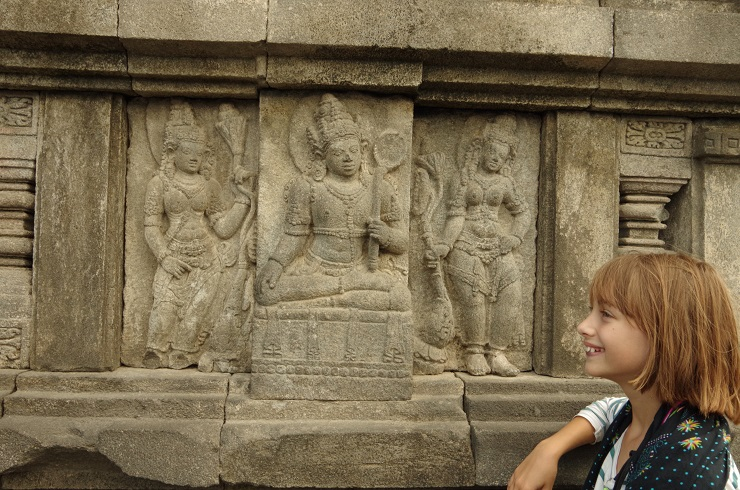 Prambanan et ballet 28 juillet 176