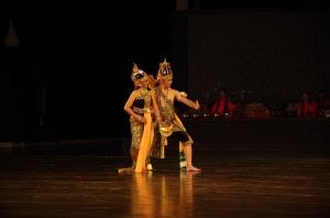 Prambanan et ballet 28 juillet 398