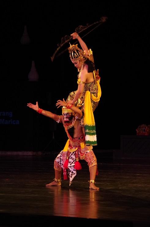 Prambanan et ballet 28 juillet 443