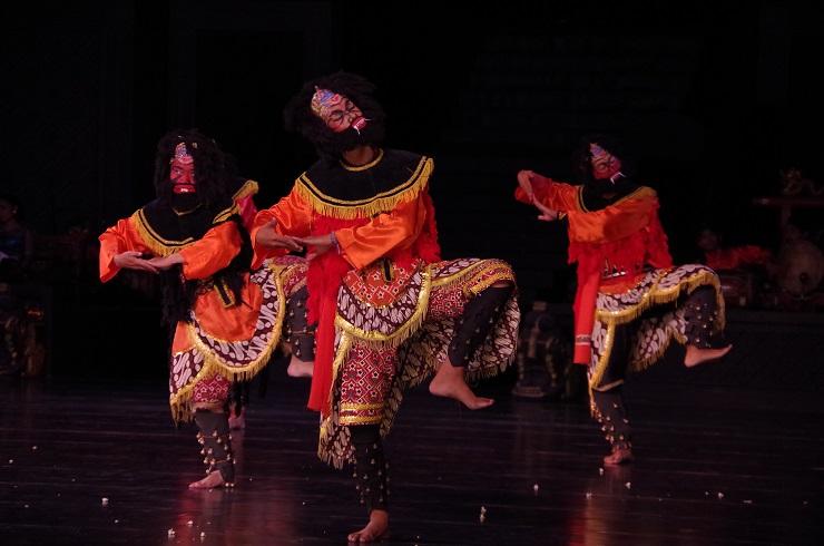 Prambanan et ballet 28 juillet 582