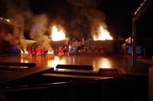 Prambanan et ballet 28 juillet 609