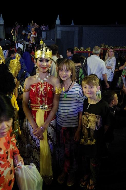 Prambanan et ballet 28 juillet 704