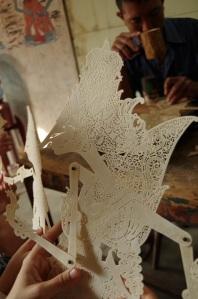marionnette traditionnelle javanaise
