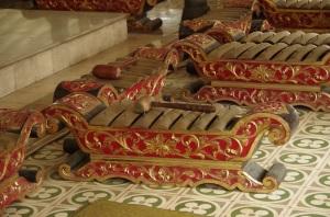 instruments de l'orchestre traditionnel javanais