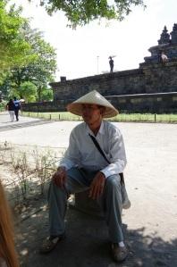 notre guide a pris le temps de nous raconter Borobudur