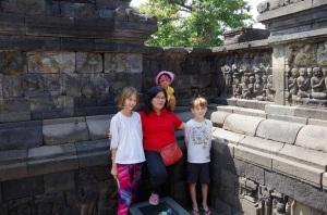 Temple de Borobudur 096
