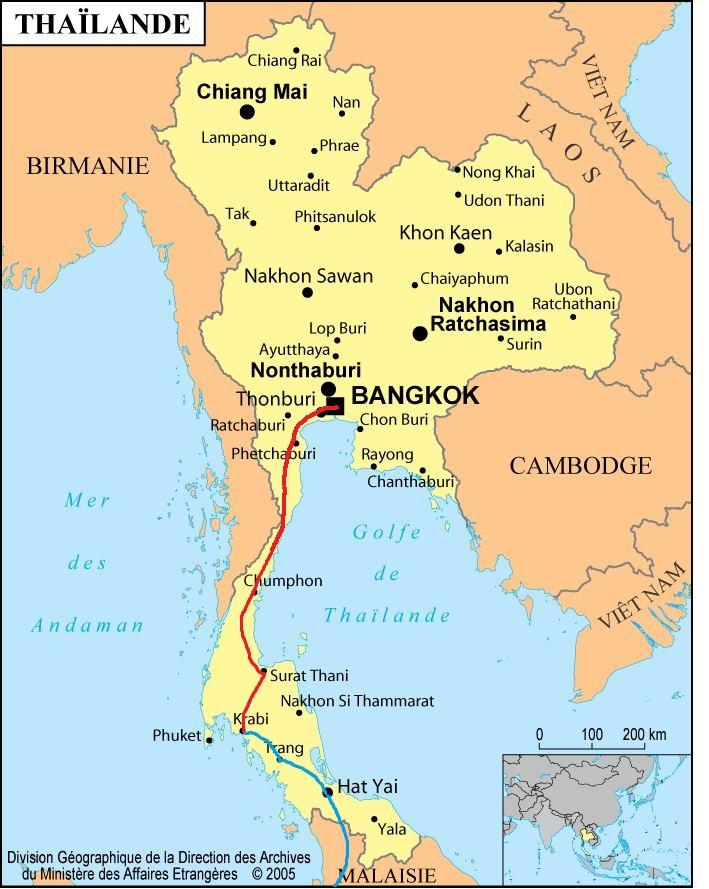 Carte Thailande Krabi.Krabi La Thailande Du Sud Asiedusudestenfamille