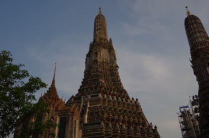 Temple vue d'ensemble