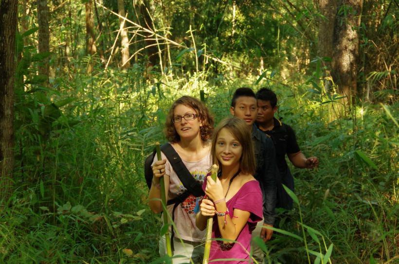 Thaton trek et descente de la rivière Kok 041