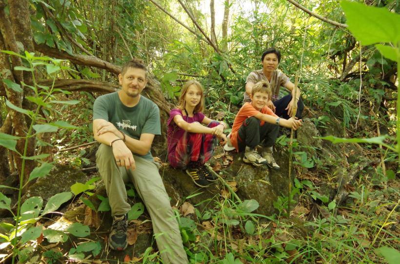 Thaton trek et descente de la rivière Kok 051