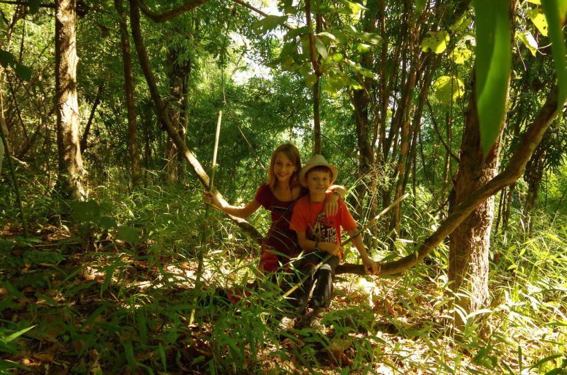 Thaton trek et descente de la rivière Kok 065