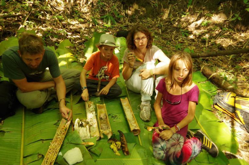 Thaton trek et descente de la rivière Kok 313