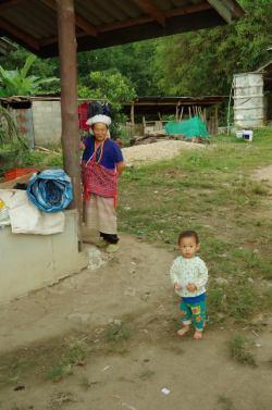 Thaton trek et descente de la rivière Kok 384
