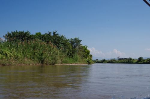 Thaton trek et descente de la rivière Kok 489