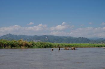 Thaton trek et descente de la rivière Kok 517