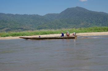 Thaton trek et descente de la rivière Kok 523
