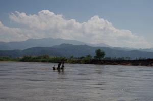 Thaton trek et descente de la rivière Kok 524