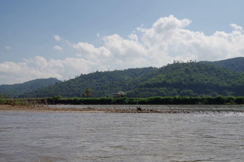 Thaton trek et descente de la rivière Kok 536