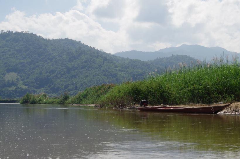 Thaton trek et descente de la rivière Kok 550
