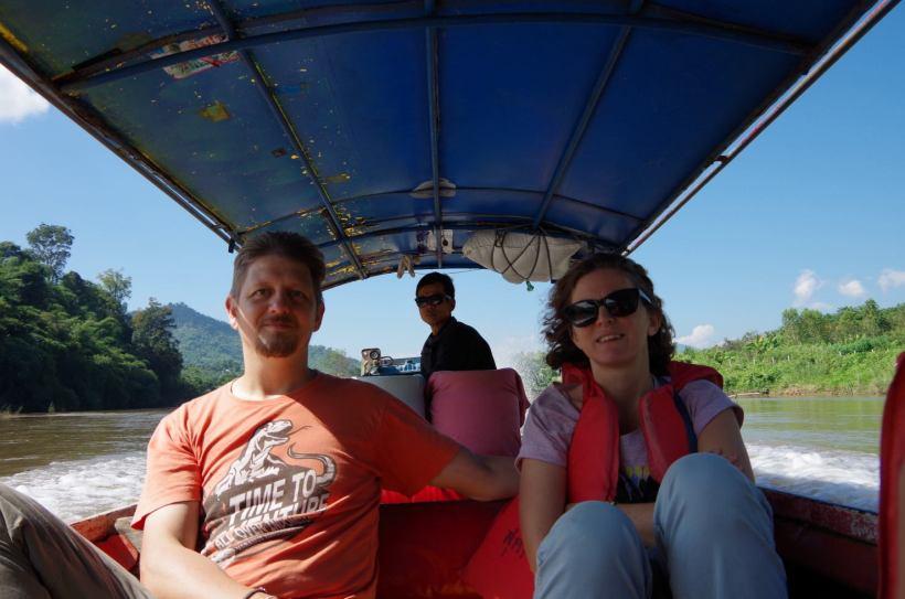 Thaton trek et descente de la rivière Kok 584