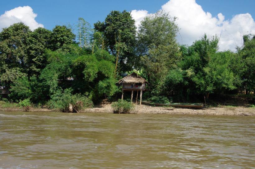 Thaton trek et descente de la rivière Kok 594