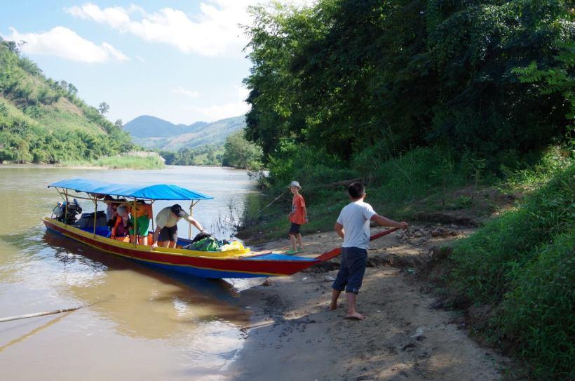 Thaton trek et descente de la rivière Kok 611