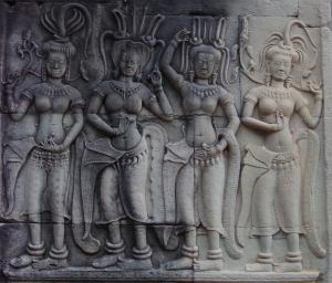 Angkor Vat Devatas (4)